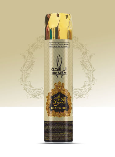 Picture of THE SCENT AIR FRESHNER BLACK OUD 300ML