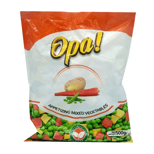 Picture of OPA MIXED VEGETABLES 500G