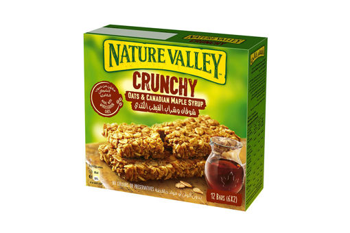 Picture of NATURE VALLEY CRUNCHY OATS & CANADIAN MAPLE SYRUP 12 BARS