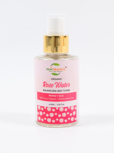 Picture of HAIR MANTRA ORGANIC ROSE WATER