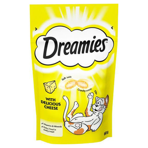 Picture of DREAMIES WITH DELICIOUS CHEESE 60G