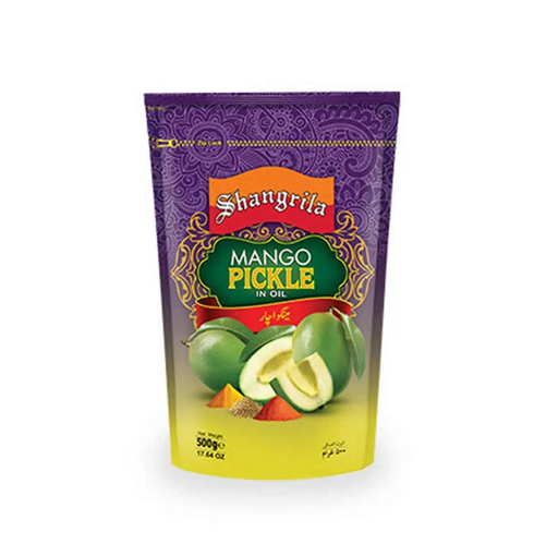 Picture of SHANGRILA MANGO PICKLE 500G