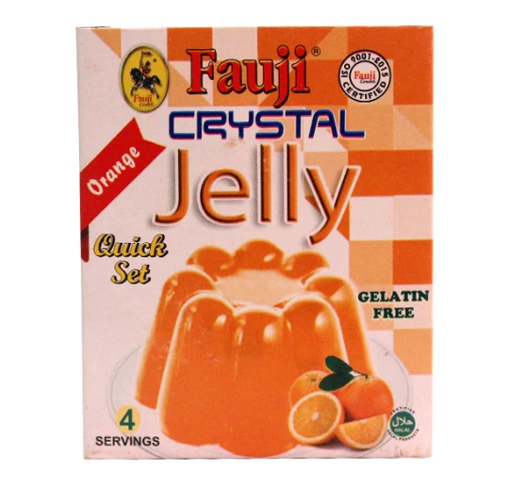 Picture of FAUJI ORANGE JELLY 80GMS