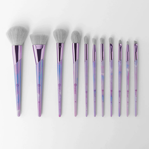 Picture of BH LAVENDER LUXE 11 PIECE BRUSH SET