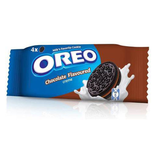 Picture of LU OREO CHOCOLATE FLAVORED CREME BISCUITS 38G
