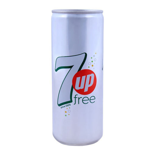 Picture of 7UP FREE CAN 250ML